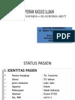 Fernando Sugiarto - Case Ujian - OD Pseudoafakia + OS