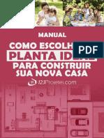 Manual Como Escolher a Planta Ideal Para Construir Sua Nova Casa 123Projetei
