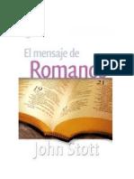 John_Stott - El Mensaje de Romanos