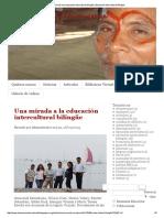 Una Mirada a La Educación Intercultural Bilingüe _ Educación Intercultural Bilingüe