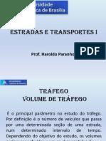 1 - Contagem de Tráfego - Estrada e Transportes I