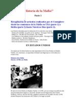 Historia de La Mafia PRIMERA PARTE