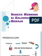 Bahaya Merokok Di Kalangan Remaja
