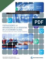 Informe del Banco Mundial y las oportunidades para Argentina a través de la integración en la economía global