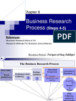 06. Business Research Process (Steps 4-5)