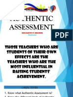 Authentic Assessment