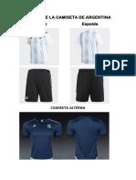 Diseño de La Camiseta de Argentina