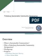 BCC Finksburg Sustainable Community Decision