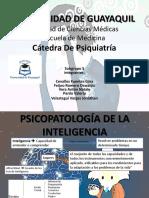 PSIQUIATRÍA DE LA INTELIGENCIA