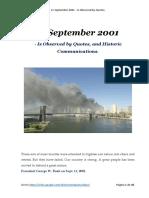 11 September 2001 - Critical Communication - ERD - Mexico