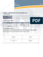 PM-Contract Management Guidelines - Templates