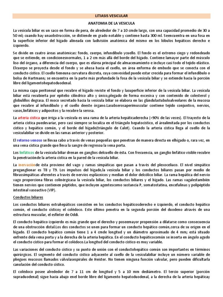 Perfecto Vesícula Biliar Triángulo De La Anatomía Calot Bandera ...