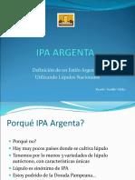 Ipa Argenta