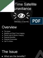 real-time satellite surveillance