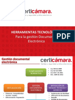Herramientas Tecnologicas Para La Gestion Documental Electronica