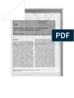 Adquisicion, Aplicaciones e Interpretacion de Los Datos Bioquimicos Clinicos.