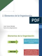 2. ELEMENTOS DE LA ORGANIZACIÓN.pptx