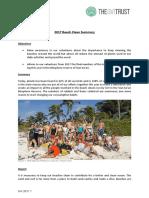 GVI Pez Maya Monthly Achievement Report November 2017