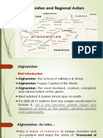 5th Lecture Afghanistan Quagmire