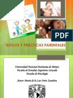 Estilos y Practicas Parentales