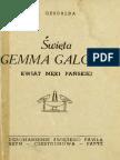 S. Gesualda, Święta Gemma Galgani. Kwiat Męki Pańskiej
