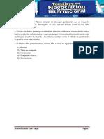 Plantilla de Trabajo Tecnólogo en Negociación Internacional