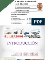 Leasing Financiero Grupo 8