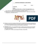 Evaluación de Biología IV Parte Práctica-Genetica