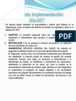 Implementacion SG SST