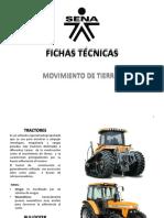 FICHAS TÉCNICAS  DE MAQUINARIA PESADA
