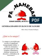 1ra Clase Genaralidades en B.sangre