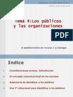 Presentación Ppt Tema 4 PÚBLICOS
