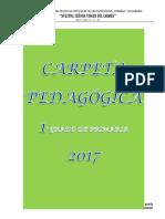 Catpeta Pedagógica Primaria 2017