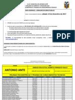 Cronograma Pruebas Gadmaa 16122017 Jornalero de Obras Publicas