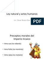 10. Ley Natural y Actos Humanos