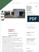 M2 Muro - Pared De Hormigon Celular Andblok - $ 500,00 en Mercado Libre