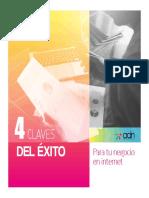 Manual 4 claves Del Éxito Para Tu Negocio en Internet