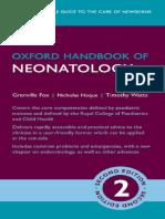 Oxford Handbook of Neonatology