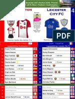 Premier League 171213 round 17 Southampton - Leicester 1-4