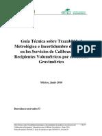 CALIBRACION Volumen Metodo Gravimetrico v03