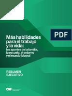 CAF, Más Habilidades Para El Trabajo y La Vida - RE, 2016