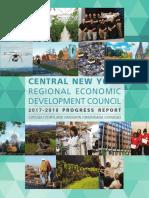Central NY Regional Economic Development Council 2017-2018 Progress Report