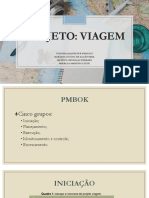 Projeto - Viagem (Gerenciamento de Projetos)