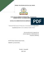 191 Demanda Potencial Para La Producción y Comercialización de Papa Prefrita Congelada Tipo Bastón en Las Ciudades de Tulcán e Ibarra - Edgar Oswaldo Aguilar