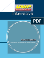 PIM Modelo de projeto integrado multidiciplinar