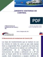 2 Mantenimiento de Instalaciones de Control y SIS