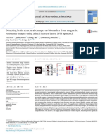 Detecting Brain Structural Changes as Biomarker From Magnetic Resonance Images Using a Local Feature Based SVM Approach