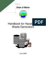 Mane Haz Waste Handbook