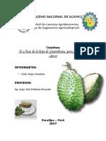 Informe de Laboratorio-beneficios de la guanabana