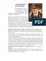 Necesidad Neurótica de Adolf Hitler